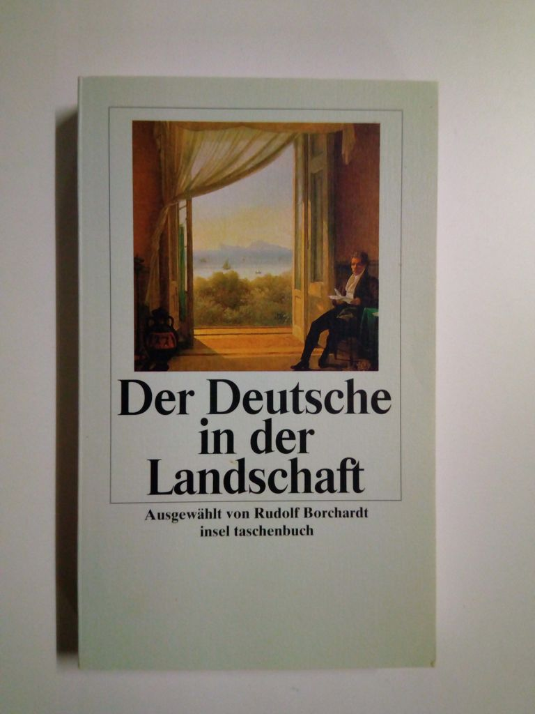 Der Deutsche in der Landschaft