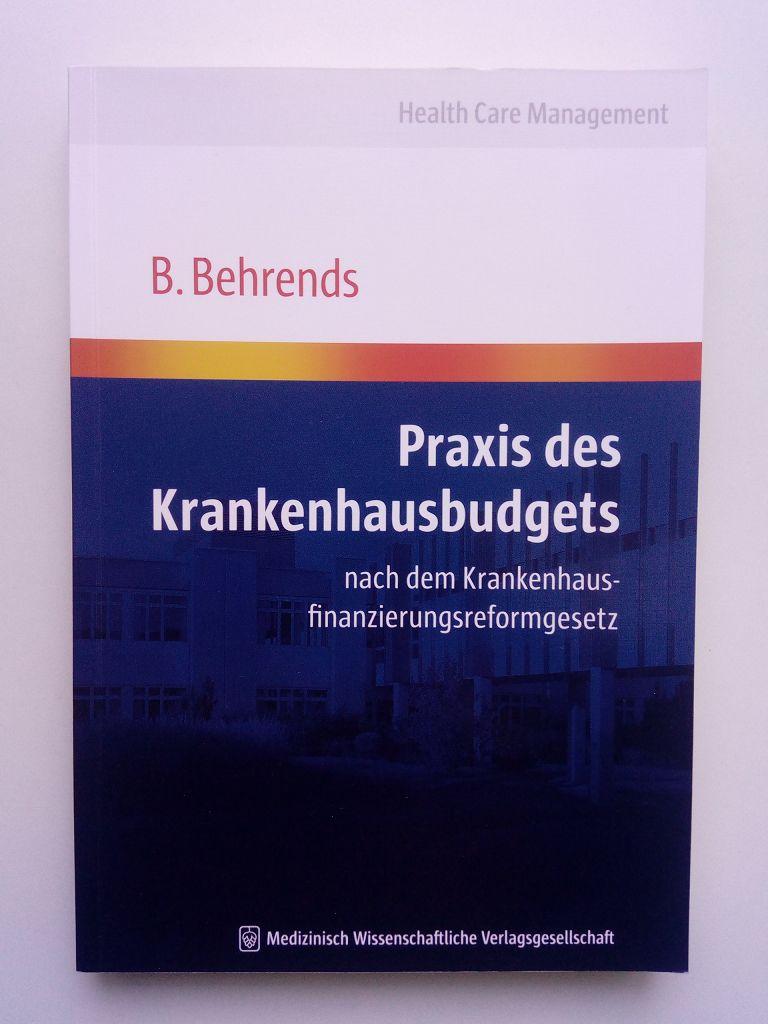 Praxis des Krankenhausbudgets nach dem Krankenhausfinanzierungsreformgesetz